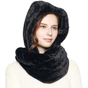 Regina Gold hoodie scarf (rabbit)
